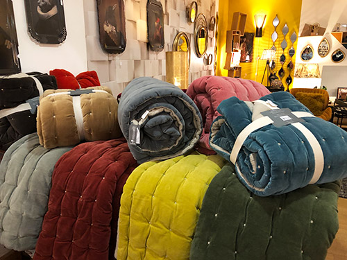 Textiles plaids